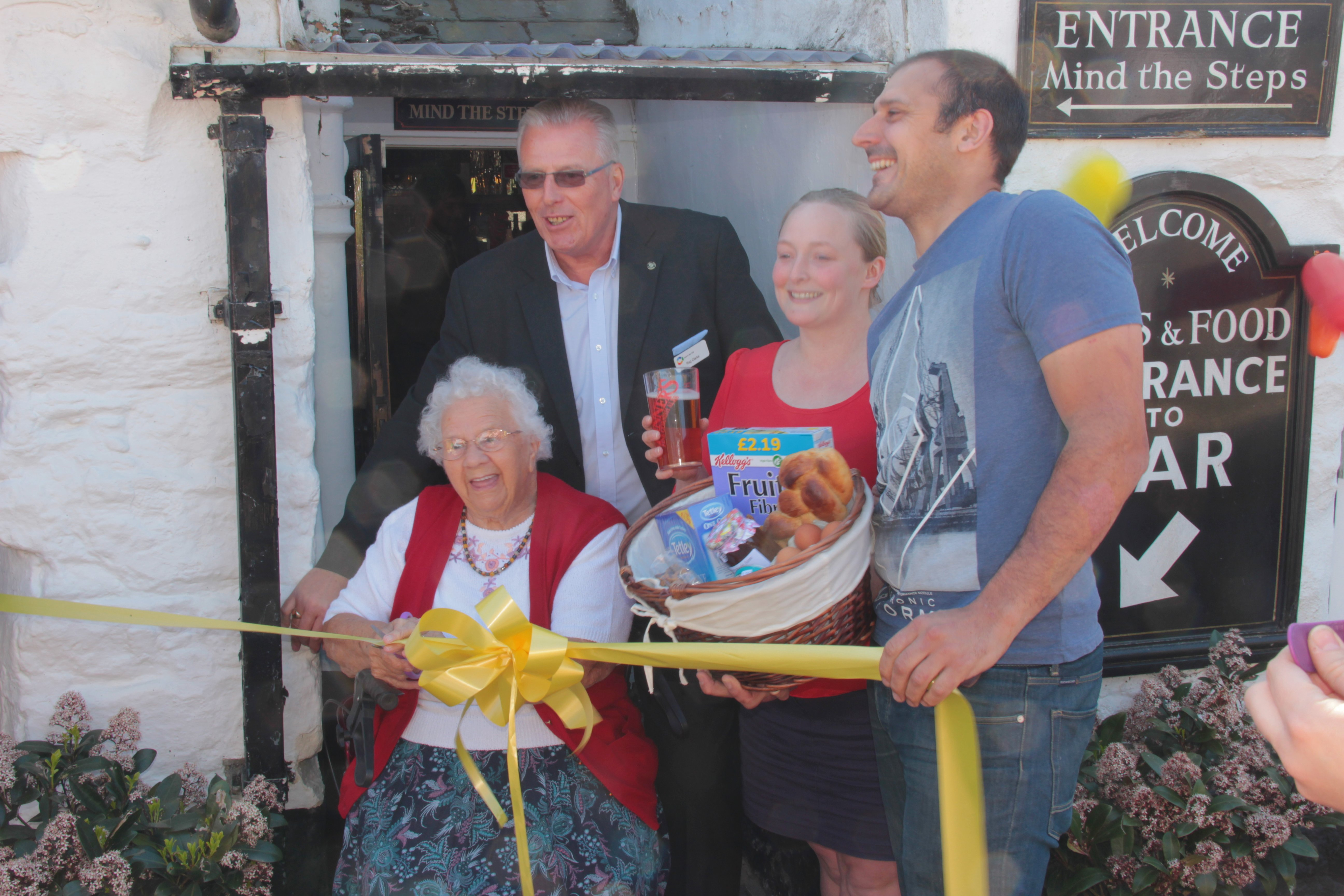 2015 Cutting The Ribbon