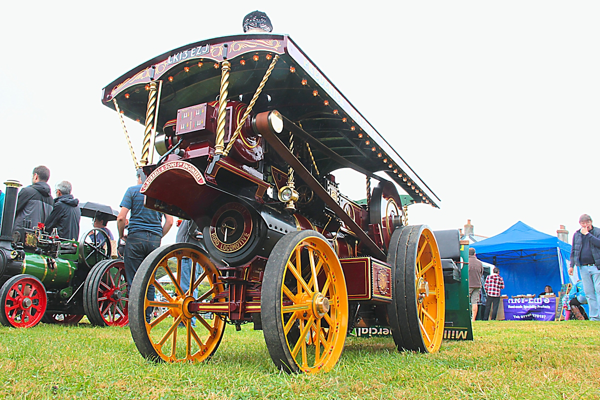 2015 Steam Showmans Engine
